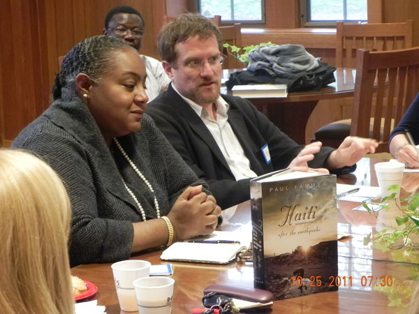 Haiti Working Group discusses Paul Farmer's book on Haiti